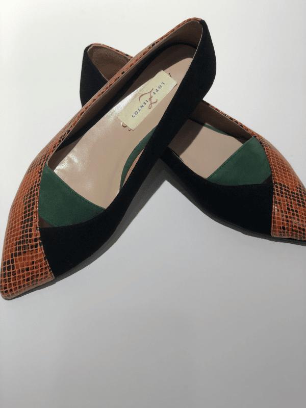 zapatos-mujer-planos-piel-serpiente-lopezientos
