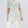 camisa-mujer-fluida-pliegue-delantero-menta-parole-italy-lopezientos