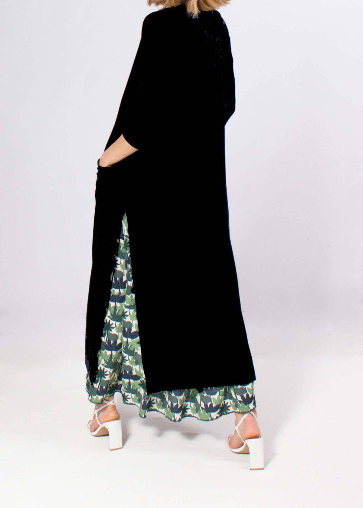 chaqueta-mujer-larga-negra-entretiempo-parole-italy-lopezientos