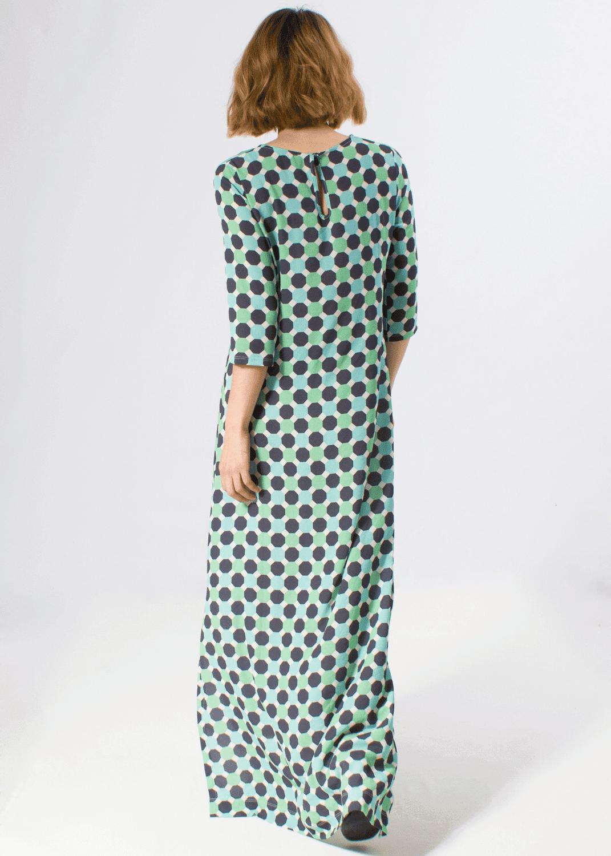vestido-largo-punto-seda-estampado-geometrico-turquesa-parole-italy-lopezientos