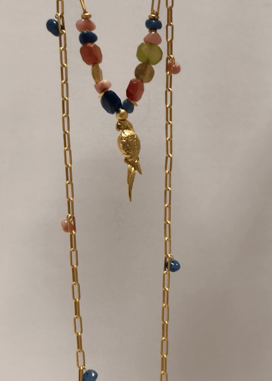 cadena-oro-loro-colores-lopezientos