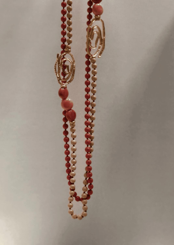 collar-cristal-ceramico-oro-coral-lopezientos