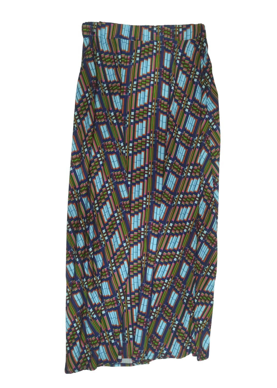 falda-parole-italy-plisada-turquesa-lopezientos