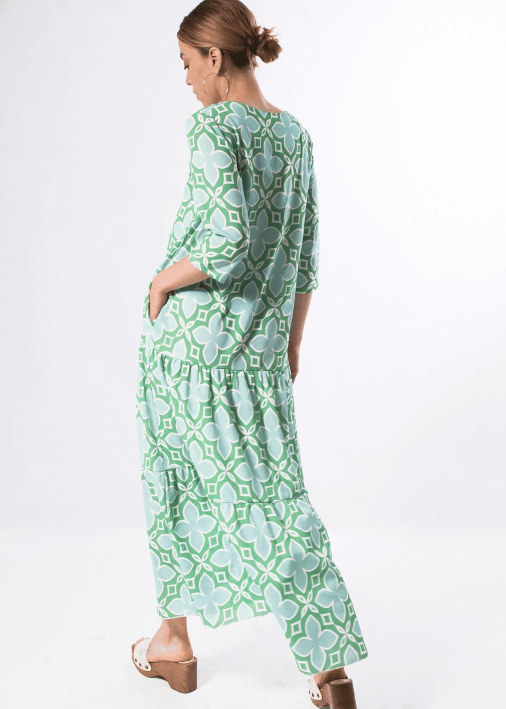 vestido-parole-italy-largo-estampado-azulejos-verde-lopezientos