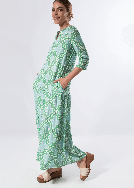 vestido-parole-italy-largo-estampado-azulejos-verde