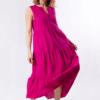 vestido-parole-italy-largo-lino-volantes-fucsia-lopezientos