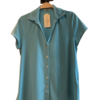 camisa-parole-italy-botones-manga-corta-azul-turquesa-lopezientos