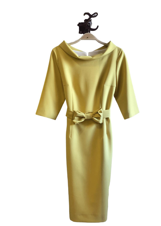 vestido-fiesta-angel-iglesias-clasico-cinturon-lopezientos
