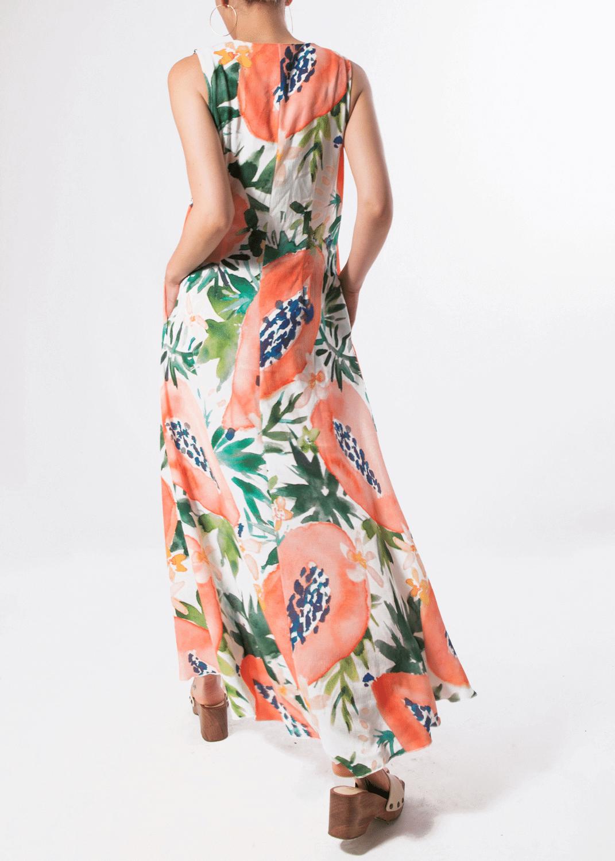 vestido-parole-italy-largo-sin-mangas-estampado-papaya-lopezientos