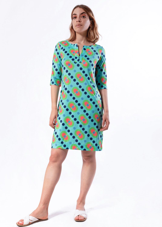 vestido-parole-italy-recto-corto-pildoras-verde-lopezientos
