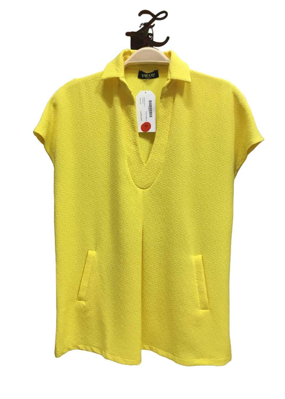 camiseta-parole-italy-mujer-manga-corta-amarillo-lopezientos