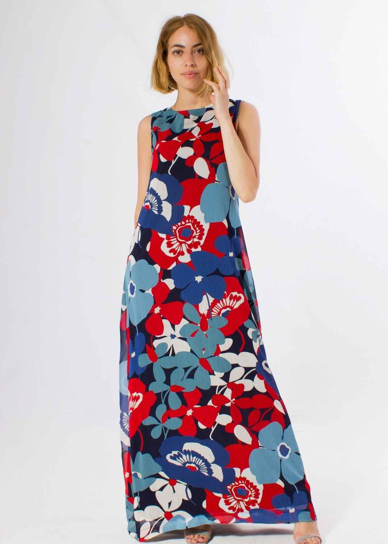 vestido-parole-italy-largo-flores-azul-rojo-lopezientos