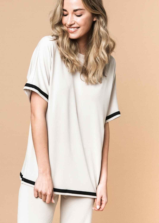 camiseta-mujer-parole-italy-verano-beige-oversize-crepe-lopezientos