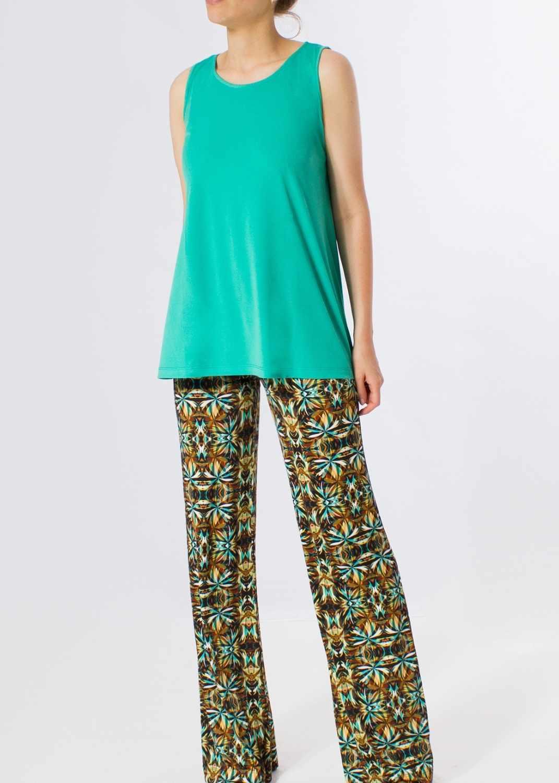camiseta-mujer-verano-tirantes-verde-agua-parole-italy-lopezientos