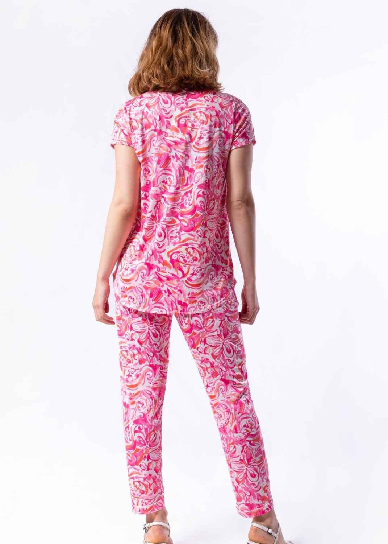 pantalon-mujer-parole-italy-estrecho-estampado-acuarela-fucsia-punto-frio-lopezientos