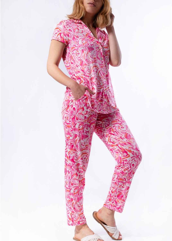 pantalon-mujer-parole-italy-estrecho-estampado-acuarela-punto-frio-lopezientos