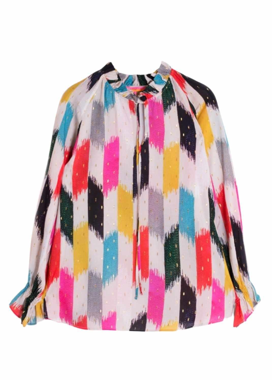 camisa-mujer-vilagallo-estampada-colores-velma-negara-lopezientos