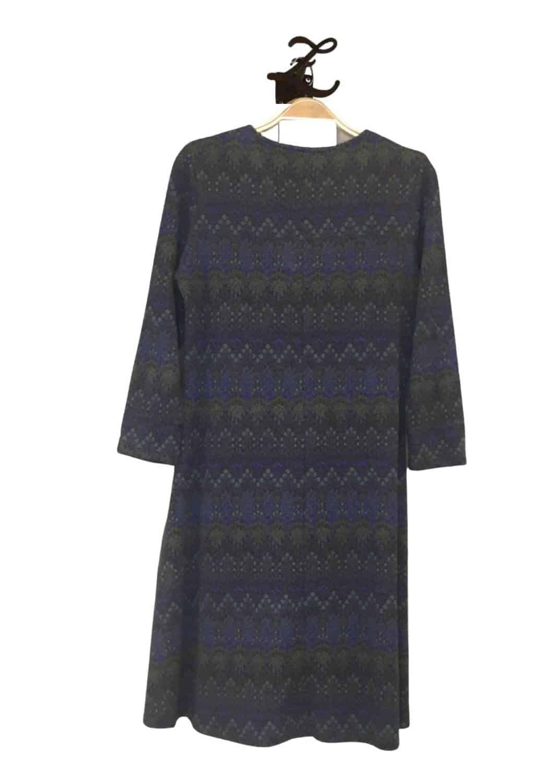 vestido-corto-viscosa-punto-azul-verde-kmiss-lopezientos
