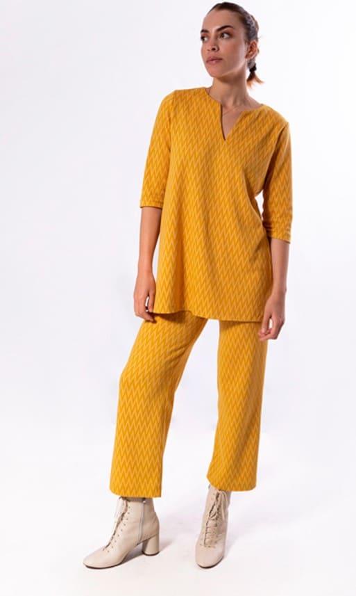 camiseta-mujer-parole-italy-jacquard-estampado-zigzag-amarillo-lopezientos