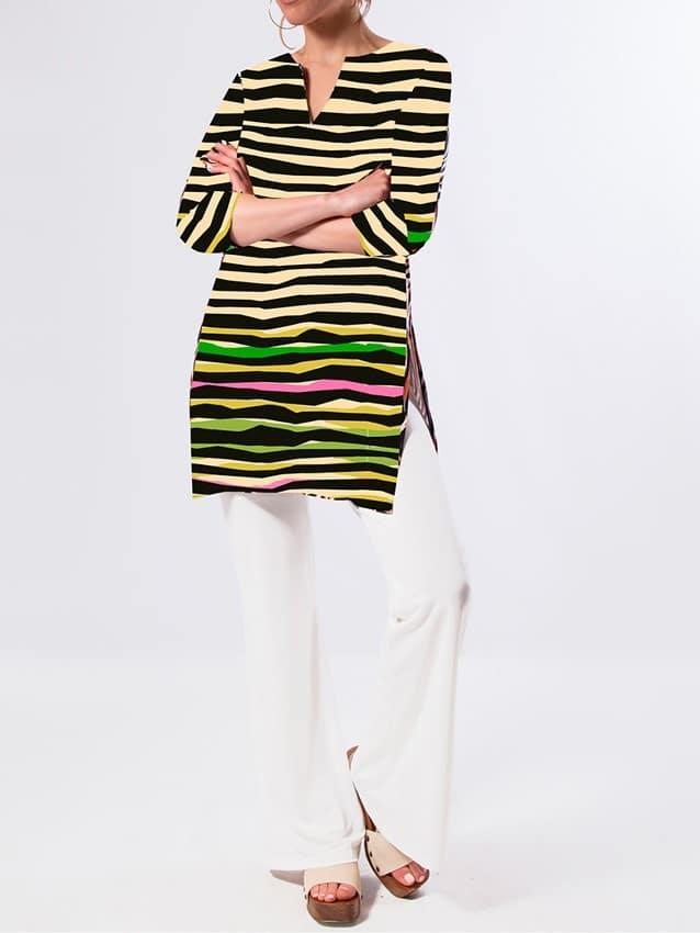 camiseta-mujer-parole-italy-rayas-sol-nata-crepe-lopezientos