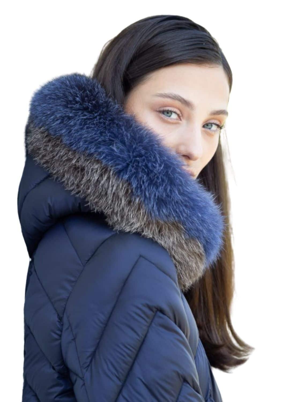 chaqueta-mujer-plumas-azul-acolchada-donjaz-capucha-lopezientos