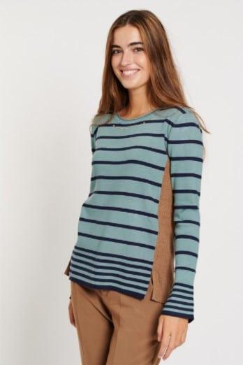 jersey-mujer-punto-fino-canale-rayas-azul-batopeto-lopezientos